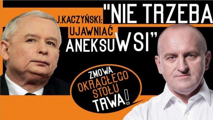 Kaczyński - lepiej nie ujawniać aneksu WSI