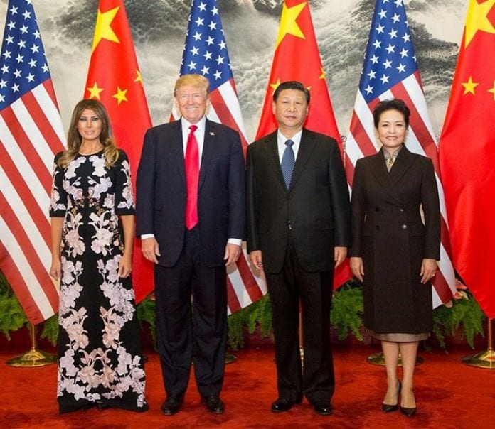 Donald Trump w Chinach