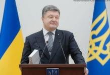 Prezydent Ukrainy - Petro Poroszenko