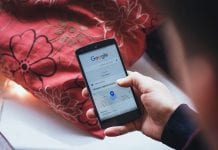 Google na smartfonir