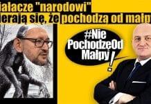 Nie pochodzę od małpy Kowalski-Chojecki-2017-11-06