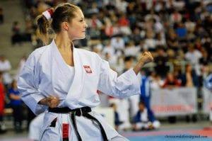 Małgorzata Zabrocka na mistrzostwach
