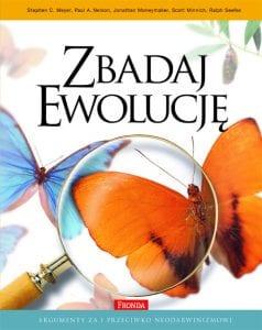 Książka zbadaj ewolucję - okładka