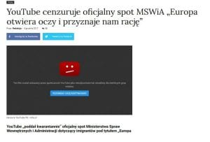 blokada MSWiA