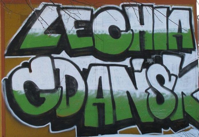 Lechia Gdańsk - graffiti