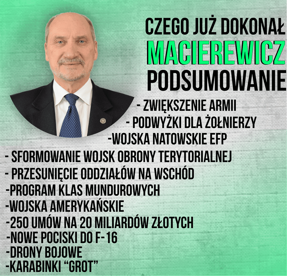 #MuremZaMacierewiczem