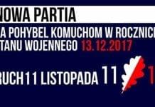 #Ruch11Listopada