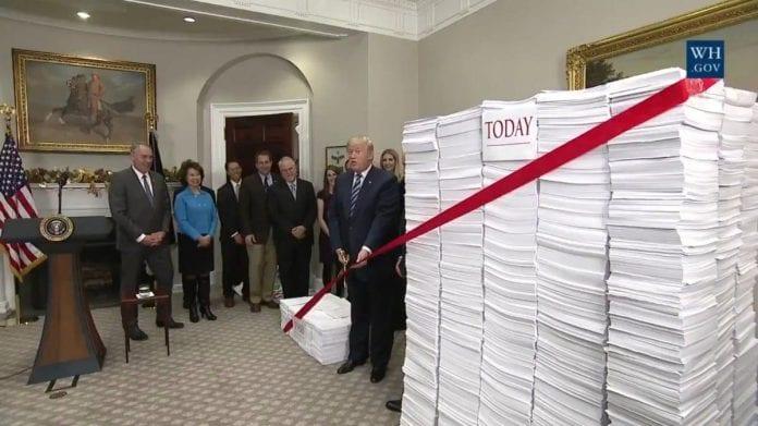 Donald Trump - deregulacja