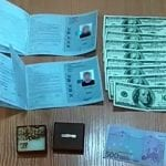 Dokumenty i pieniądze nielegalnych imigrantów