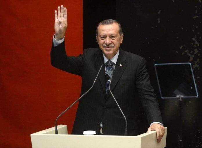 Prezydent Turcji - Erdogan