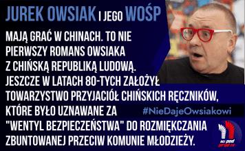 #NieDajeOwsiakowi