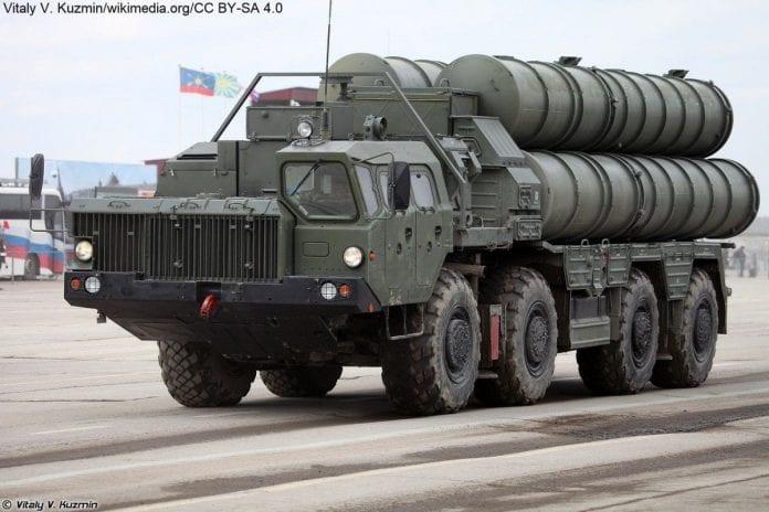 Wyrzutnia rakiet przeciwlotniczych S-400