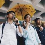 Joshua Wong - parasolkowa rewolucja