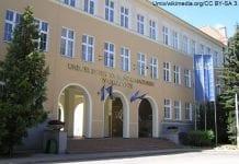 Uniwersytet Warmińsko-Mazurski w Olsztynie - wejście