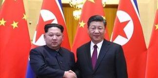 Xi Jinping i Kim Dzong Un