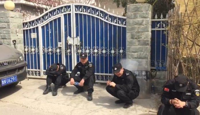 Przedszkole w Chinach blokada ChinaAid