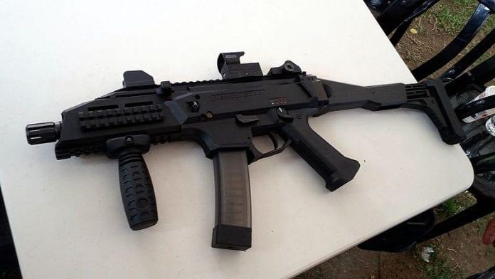Pistolet maszynowy CZ Scorpion III EVO