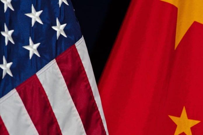 Flagi - USA, Chiny