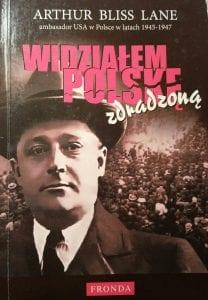 Widziałem Polskę zdradzoną - okładka książki