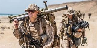 Żołnierze US Marines w Omanie 2017