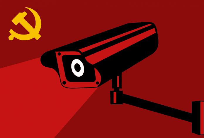 Komunistyczna kamera śledzi Chińczyków